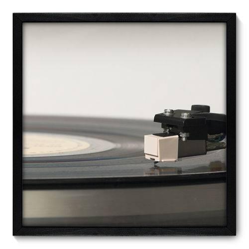 Quadro Decorativo - Toca Discos - N7015 - 50cm X 50cm