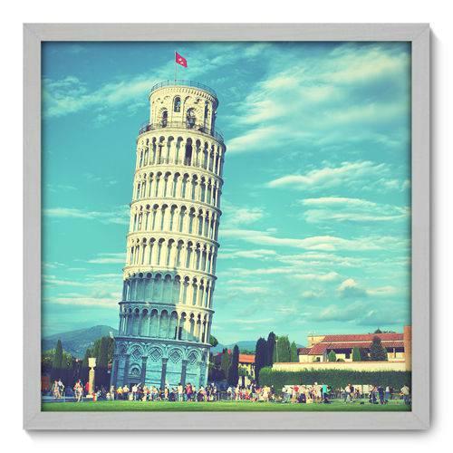 Quadro Decorativo - Torre de Pisa - N3004 - 50cm X 50cm