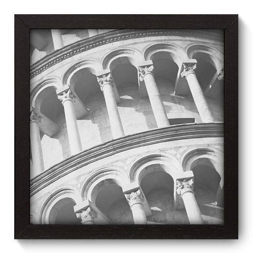 Quadro Decorativo Torre de Pisa N5003 22cm X 22cm