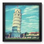 Quadro Decorativo Torre de Pisa N6004 33cm X 33cm