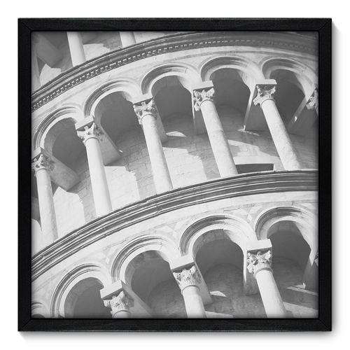Quadro Decorativo - Torre de Pisa - N7003 - 50cm X 50cm