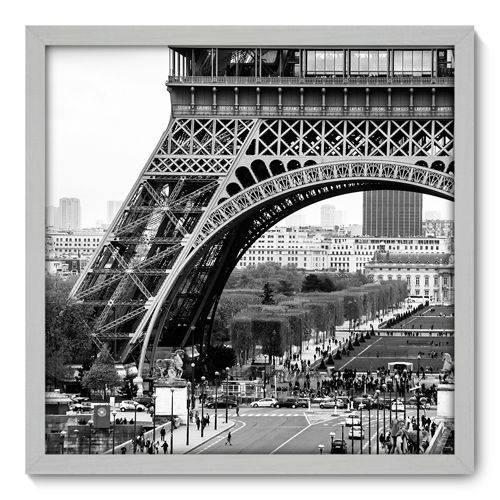 Quadro Decorativo - Torre Eiffel - 50cm X 50cm - 011qnmcb