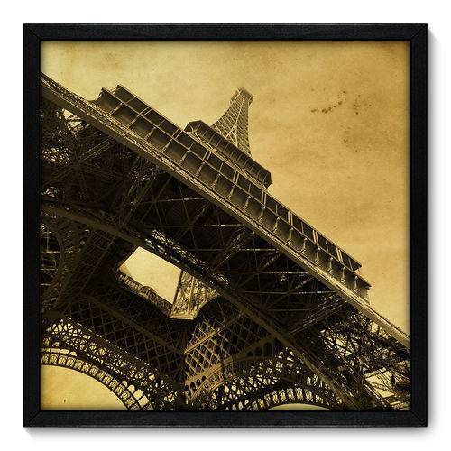 Quadro Decorativo - Torre Eiffel - 50cm X 50cm - 019qnmcp