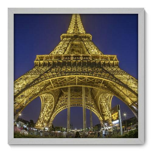 Quadro Decorativo - Torre Eiffel - 50cm X 50cm - 036qnmcb