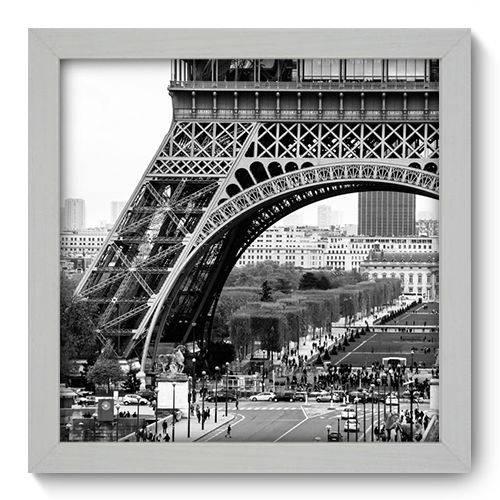 Quadro Decorativo - Torre Eiffel - 22cm X 22cm - 011qnmab
