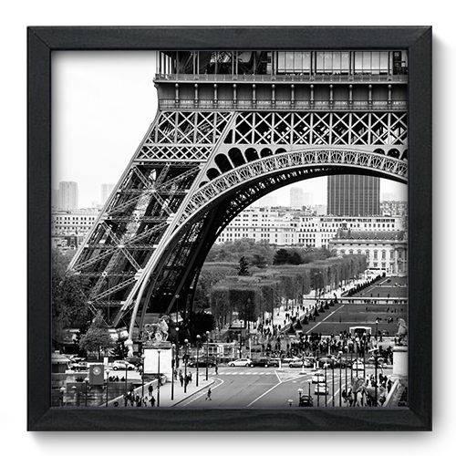 Quadro Decorativo - Torre Eiffel - 33cm X 33cm - 011qnmbp