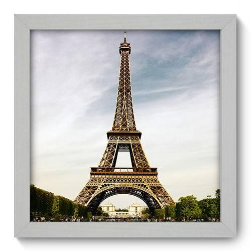Quadro Decorativo - Torre Eiffel - 22cm X 22cm - 014qnmab