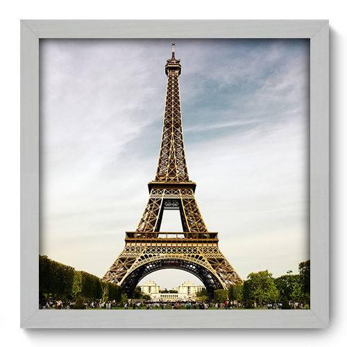 Quadro Decorativo - Torre Eiffel - 33cm X 33cm - 014qnmbb