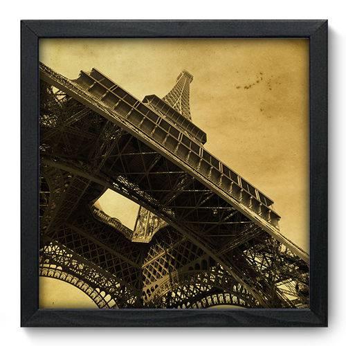 Quadro Decorativo - Torre Eiffel - 33cm X 33cm - 019qnmbp