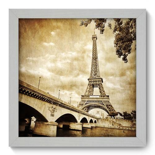Quadro Decorativo Torre Eiffel N1016 22cm X 22cm