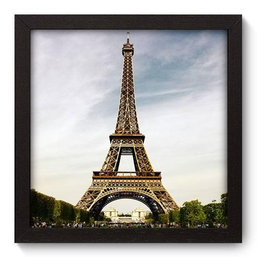 Quadro Decorativo Torre Eiffel N5014 22cm X 22cm