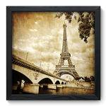 Quadro Decorativo Torre Eiffel N6016 33cm X 33cm