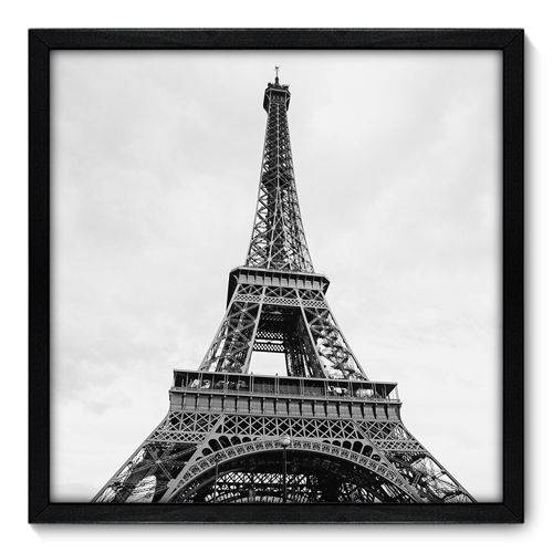 Quadro Decorativo - Torre Eiffel - N7012 - 50cm X 50cm