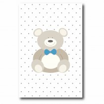 Quadro Decorativo Urso - Ps219