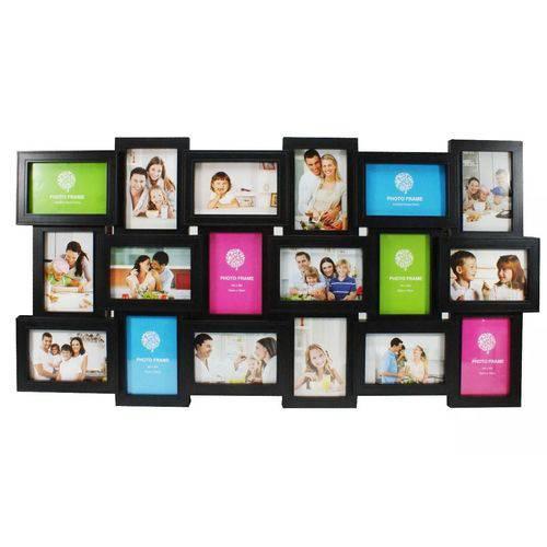 Quadro Porta Retrato para 18 Fotos 10x15
