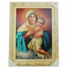 Quadro Religioso Mãe Rainha   SJO Artigos Religiosos