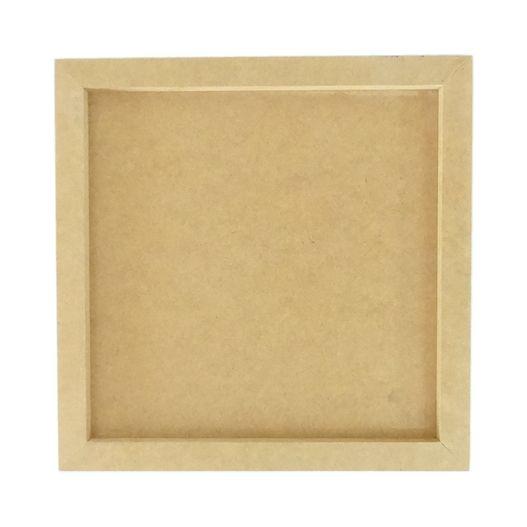 Quadro Simples Quadrado 35x35 em MDF