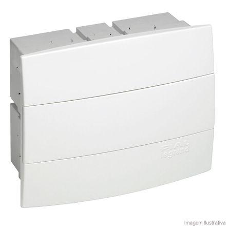 Quadro Unic 6/8 Disjuntores Branco 608101 Pial