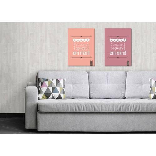 Quadros Decorativos Modernos 0022 - 50cm X 40cm