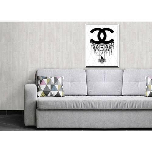 Quadros Decorativos Modernos 0021 - 50cm X 40cm