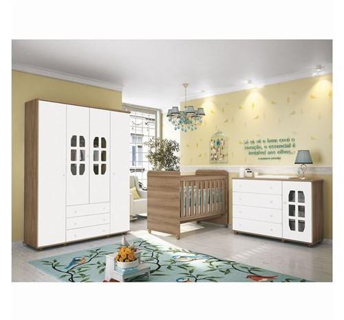 Quarto Ambiente 03 Branco Fosco / Mezzo
