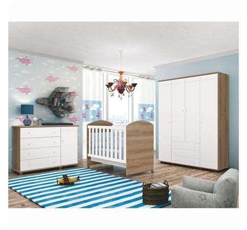 Quarto Ambiente 04 Branco Fosco / Mezzo