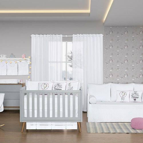 Quarto de Bebê Blanc Rosa 26 Peças