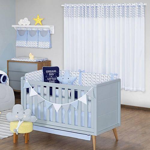 Quarto de Bebê Blue Sky 18 Peças