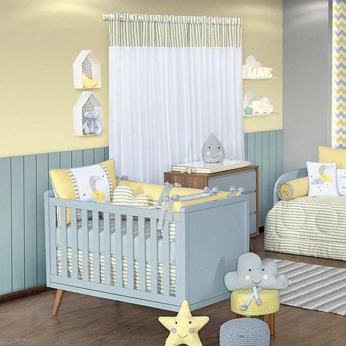 Quarto de Bebê Sunshine Chevron 18 Peças