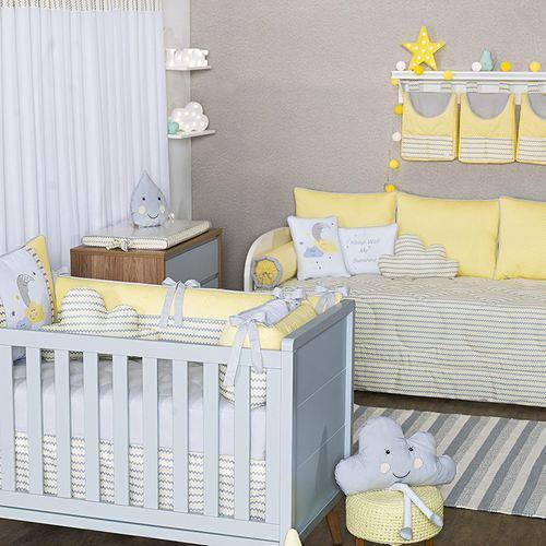 Quarto de Bebê Sunshine Chevron 27 Peças