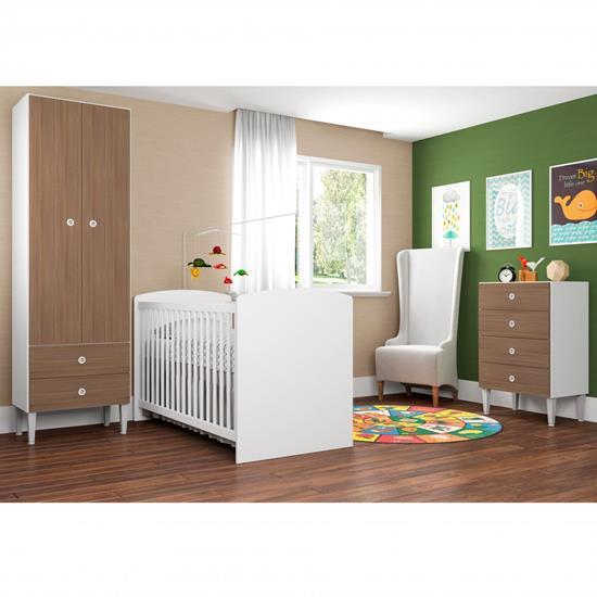 Quarto Infantil C/ Berço Aconchego CJ009 - Art In Móveis | Elare