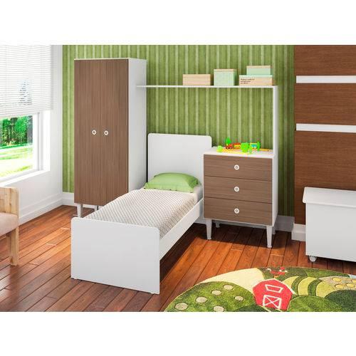 Quarto Infantil com Berço Compacto Montana - ATMCJ002 MT - Art In Móveis