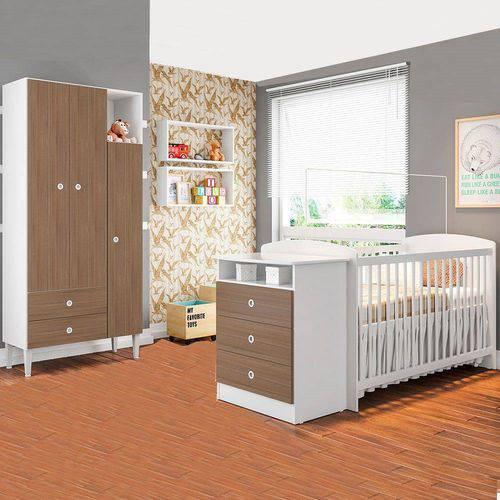 Quarto Infantil com Berço Encanto CJ003 Art In Móveis Montana