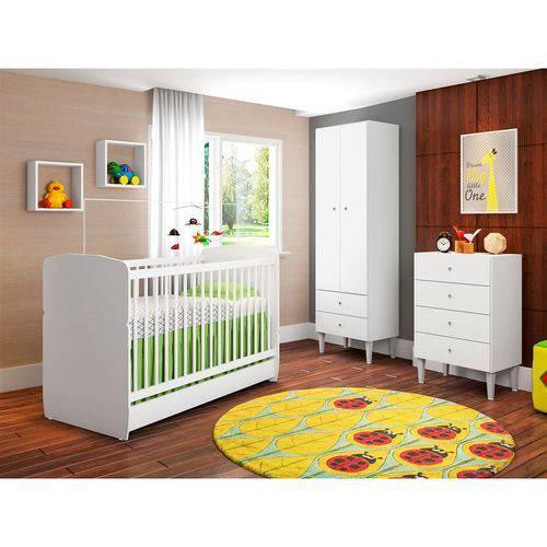 Quarto Infantil Completo Docinho CJ004 - Branco