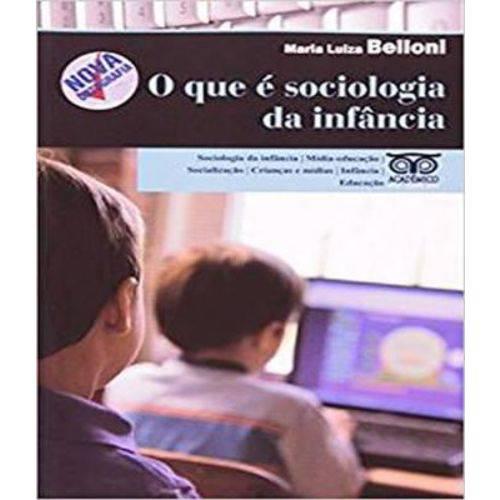 Que e Sociologia da Infancia?, o