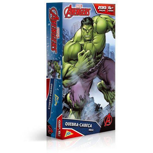 Quebra Cabeça 200 Peças Hulk Vingadores Toyster