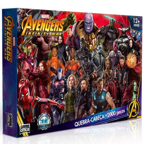 Quebra-Cabeça 2000 Peças os Vingadores: Guerra Infinita - Toyster
