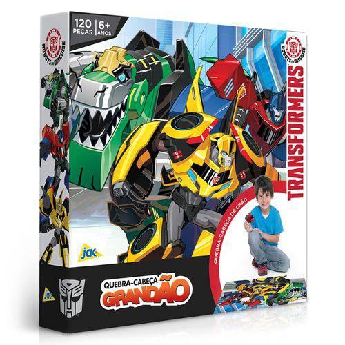 Quebra-cabeça 120 Peças Grandão Transformers