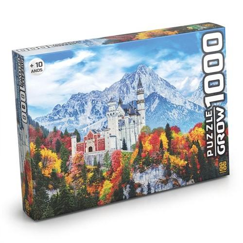 Quebra-Cabeça 1000 Peças - Castelo de Neuschwanstein - Grow - GROW