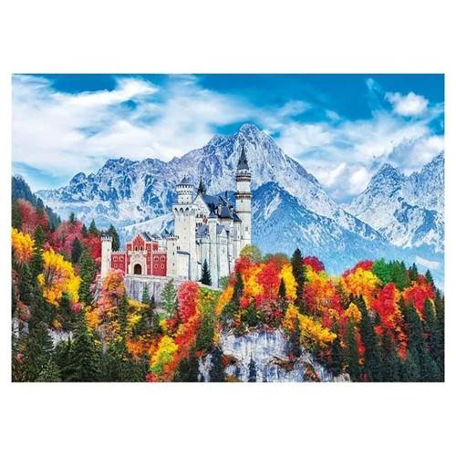 Quebra-Cabeça Castelo de Neuschwanstein 1000 Peças Grow 03734 03734