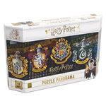 Quebra-cabeça - Harry Potter - Panorama - 350 Peças - Grow