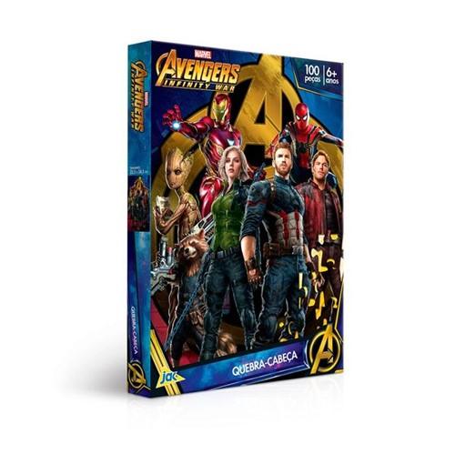 Quebra Cabeça os Vingadores Guerra Infinita 100 Peças Toyster