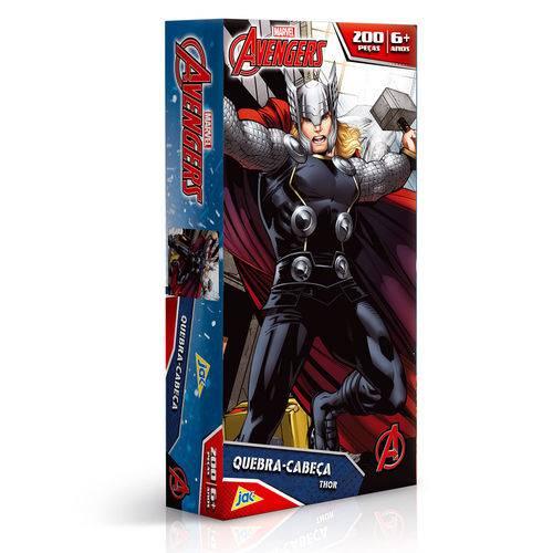 Quebra-cabeça - os Vingadores - Thor - 200 Peças - Toyster - Disney