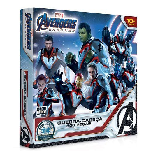 Quebra Cabeça os Vingadores Ultimato 500 Peças - Toyster