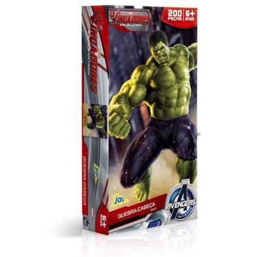 Quebracabeça os Vingadores Hulk