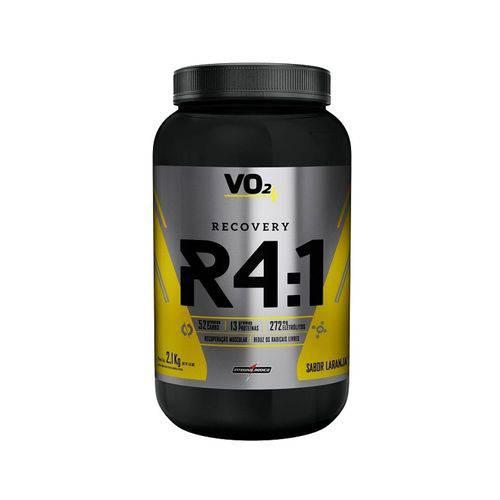 R4:1 Recovery Powder 2,1kg - Laranja