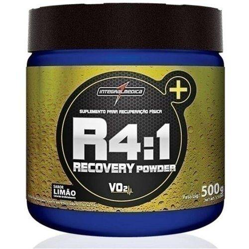 R4=1 Recovery Powder Limao 500g Integralmedica