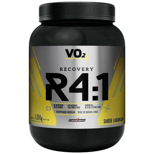 R4 Recovery Powder 1kg Laranja Integralmedica