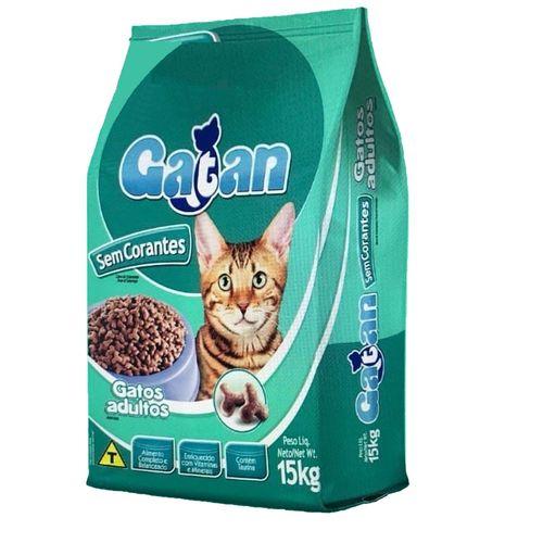 Ração Adimax Gatan Sem Corante para Gatos Adultos 15kg