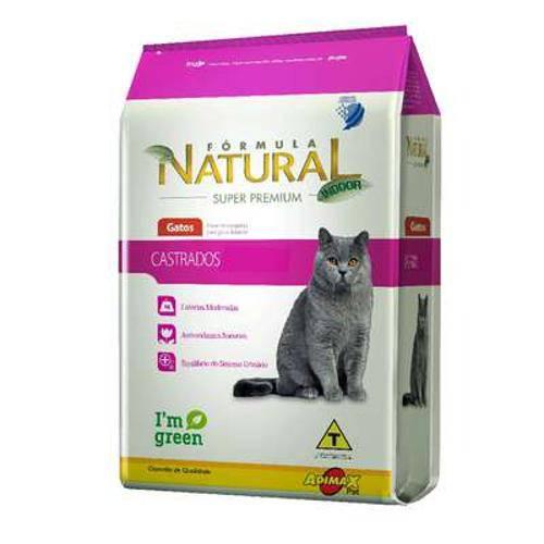 Ração Adimax Pet Formula Natural para Gatos Castrados - 1 Kg
